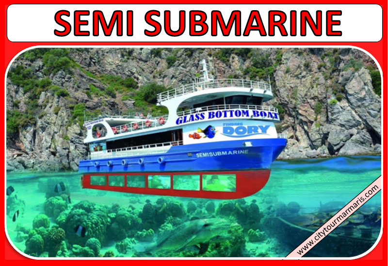 Marmaris Semi Submarine Boat