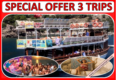 Marmaris Excursions 3 Trips