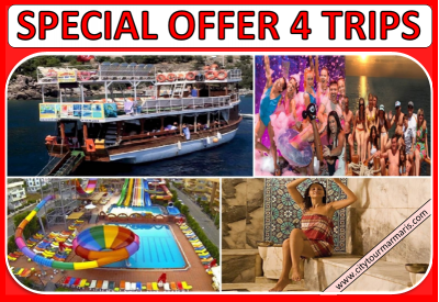 Marmaris Excursions 4 Trips