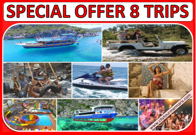 Marmaris Excursions 8 Trips