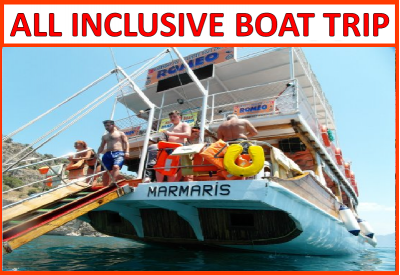 All inclusive Boat Trip