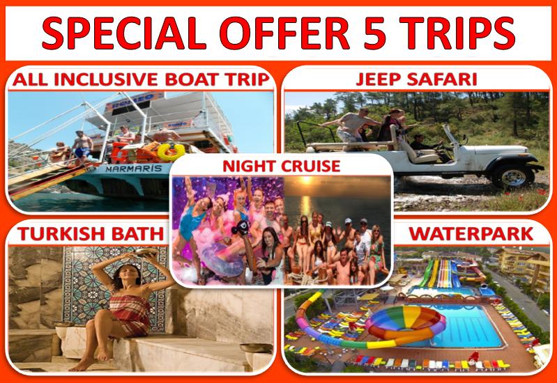 5 Trips