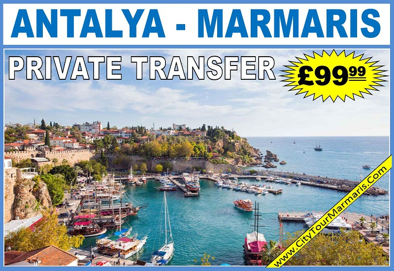 Antalya Airport to Marmaris Transfers