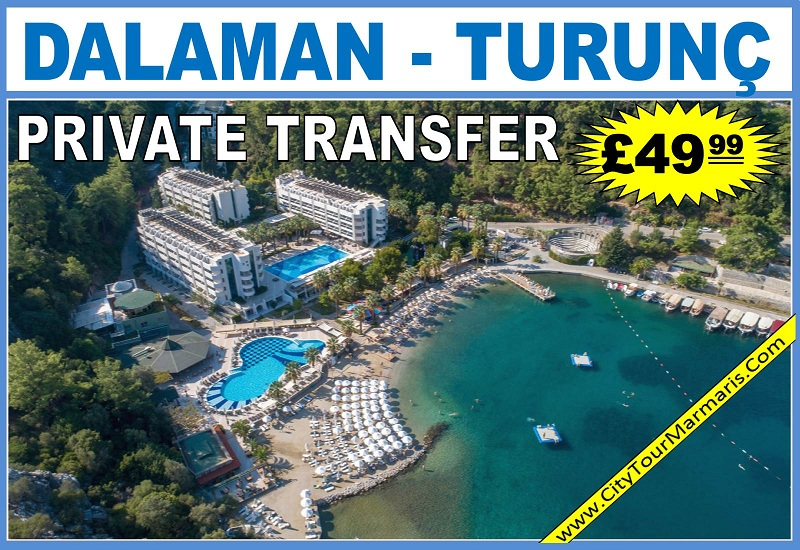 Dalaman Airport To Turunç Transfers
