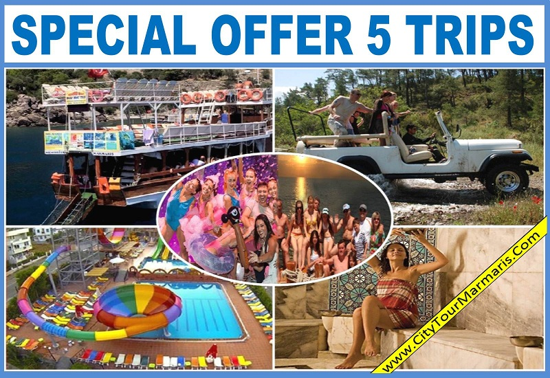 Marmaris Excursions 5 Trips