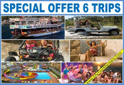 Marmaris Excursions 6 Trips