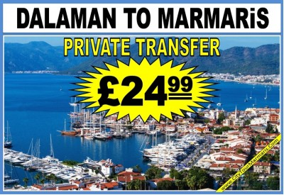 Dalaman to Marmaris Transfer