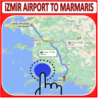 İzmir Airport to Marmaris